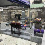 宇都宮市 寺院境内歴代御住職様の墓所改修工事